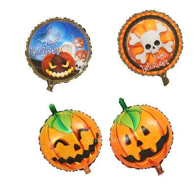 en Luftballon Kürbis Schädel Ballon Party Dekor für Kinder (Halloween Ballon Dekore)