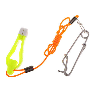 2pcs Fishing Line Release Snap Release Clip Offshore Planer Downrigger Grip B8C2