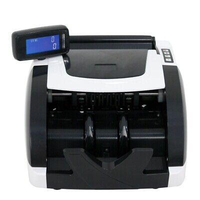 Zeny Money Bill Counter Machine Cash Counting Bank Counterfeit Detector Checker