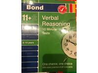 Bond 11+ 9-10 years Verbal Reasoning