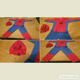 Spider man outfit age 2-3