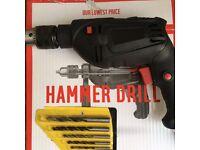 Hammer Drill + extras (ARGOS)