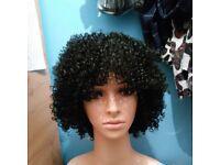 Selling black kinky wig twist out wig on Ebay