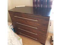 Chest of drawers used