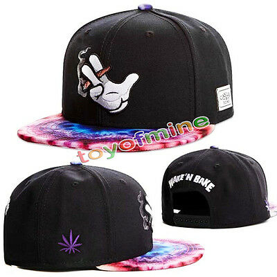 New Men's Fashion bboy brim adjustable baseball cap snapback hip-hop hat