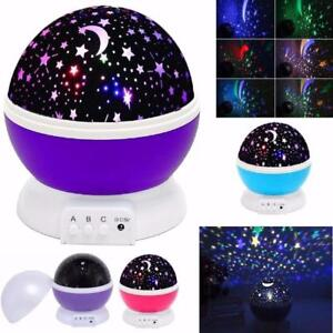 NEW LED STAR MOON WALL BEDROOM PROJECTOR LAMP 1316 LOW AS $15.95