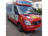 63 plate ice cream van