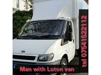 Man and Luton Van