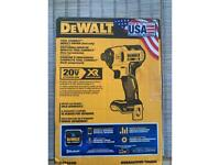 DeWALT tool connect impact driver (tool only) XR Brushless