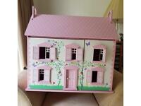 Brand new! Pink dolls house