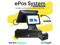 Touch Screen EPOS system, POS Till for Fast Food epos , Retail pos.All in One Full Set New.
