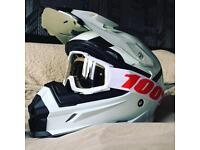 Thor motocross helmet
