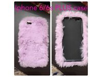 iPhone 6/6s PLUS fluffy phone case