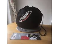 CABERG Motorcycle Helmet, as new, only worn several times, size XL