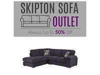 Corner Sofa Chaise Charcoal