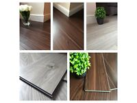 Luxury Vinyl Click (LVT) Flooring 5mm thick 0.3 wear-layer fire and waterproof 100% virgin material