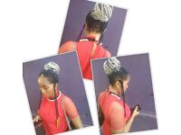 I am a mobile afro Caribbean hairdresser