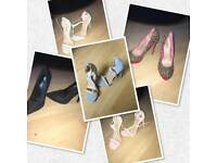High heel shoes size 4