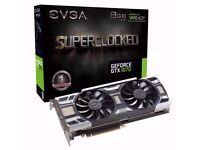 EVGA GeForce GTX 1070 SC GAMING ACX 3.0 / 8GB GDDR5 / LED / DX12 Supported OSD (PXOC) Graphics Card