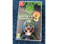 Luigi's Mansion 3 switch game