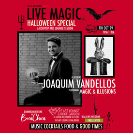 MAGIC LIVE IN THE LOUNGE WITH JOAQUIM VANDELLOS