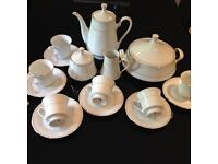 Tea set by Crown Ming