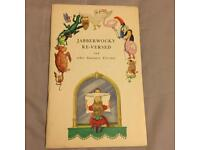 Jabberwocky Re-Versed And Other Guinness Versions Booklet 1933 Very Rare Collectible Paperback