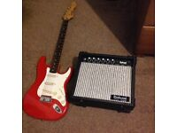 Rockwood Electric Guitar and Amplifier