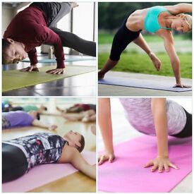 Non Slip Yoga Mat with Yoga Bag & Carry Strap