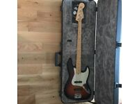 Fender American Standard Jazz Bass USA Pro Sunburst Maple