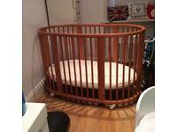 For Sale Stokke Mini Bed including Sleepi Bed extension
