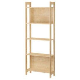 Ikea Home Office Storage Shelves Shelving Unit Bookcase Bookshelf Student Garage Workshop Laiva x2