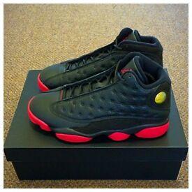 fb883bb60b655 Nike Air Jordan 13 GYM RED RetroXIII BRED UK10 QS SOLDOUT RARE 2014  DIRTYBRED ORIG RECEIPT