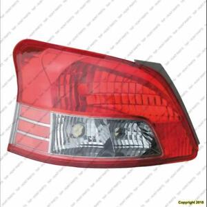 Tail Light Driver Side Sedan Sport Model High Quality Toyota Yaris 2007-2011