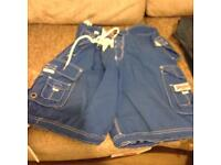 Superdry shorts x 4 pairs