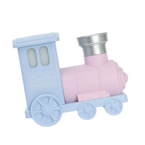 Fashion Train Household Ultrasonic Aroma Diffuser USB Air Humidifier Pink