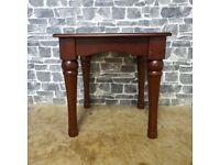 Vintage Mahogany Square Coffee Table