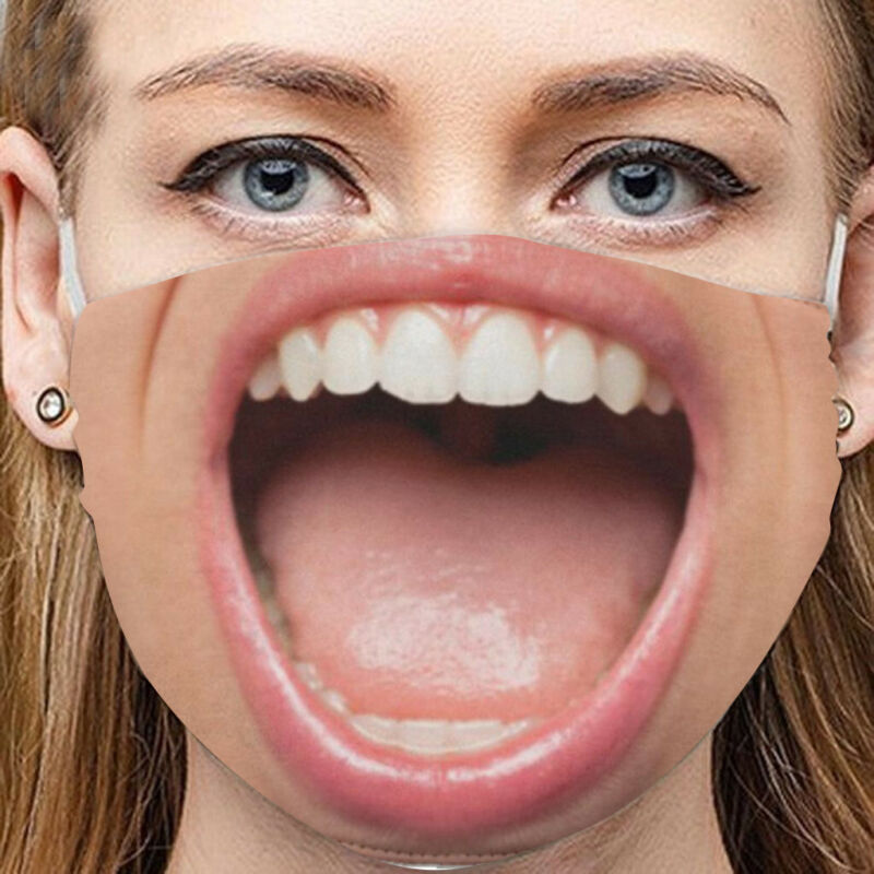 3D-Print Face Protective Covering Adult-Unisex US