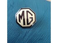 M.G. Original 1949 badges