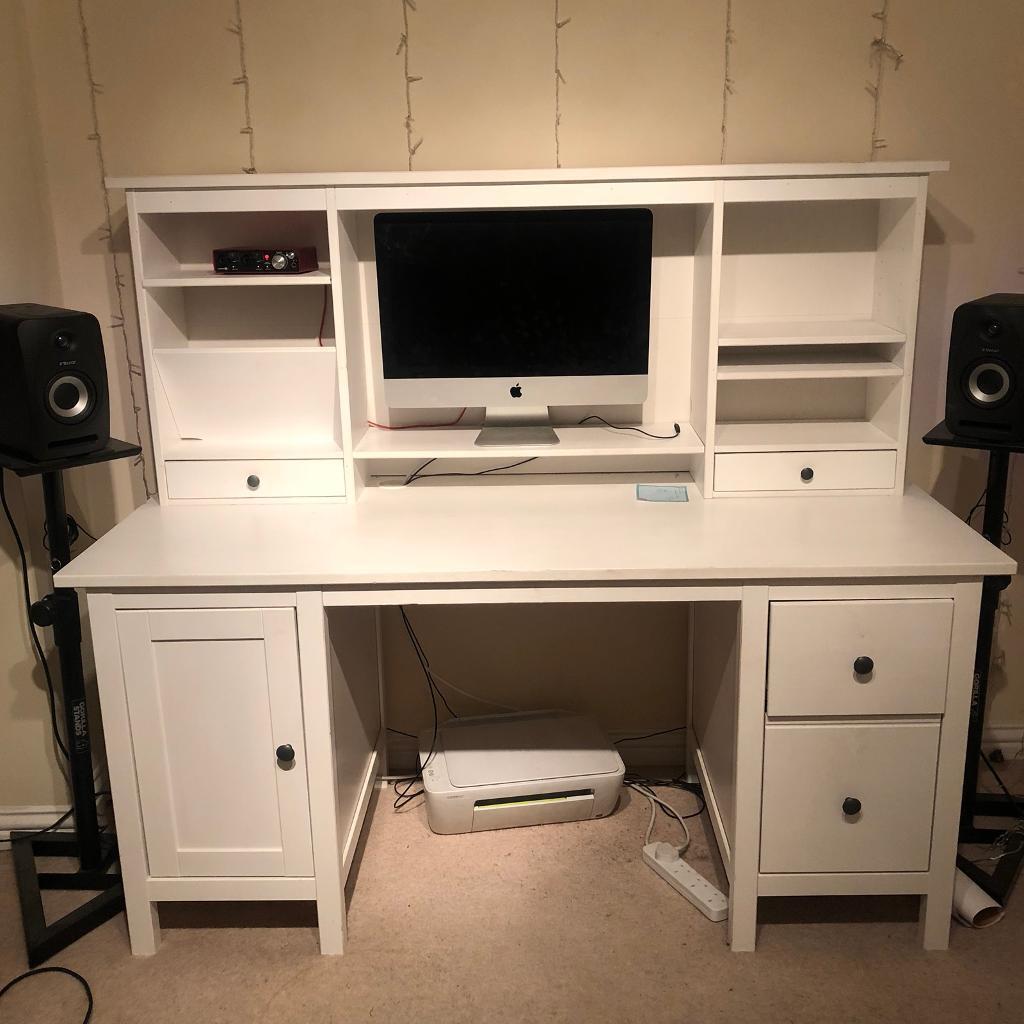 IKEA HEMNES OFFICE DESK White Desk