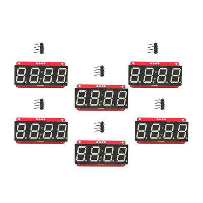 6 Led Display Module Ht16k33 I2c 0.56 4 Digit Tube 7-segment For Arduino