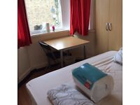 semi-double room to let @ E13 9DA all bills inclusive near upton park station available now!!