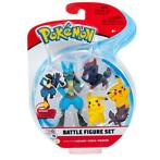 Pokemon Battle Figure 3-Pack (Pikachu, Zorua, Lucario)