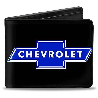 Men Wallet Bifold Black Chevy Chevrolet Impala Camaro Cruze Silverado Logo