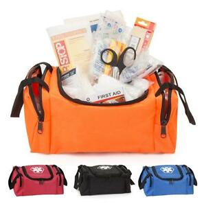 First Aid Kit First Responder Bag Fully Stocked With First Aid Supplies
