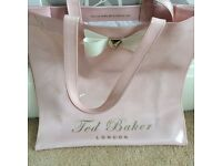 Large Baby Pink Ted Baker Bag