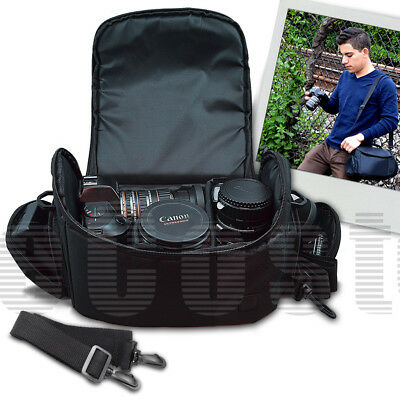 Digital Camcorder Padded Bag, Large for Canon VIXIA HF G10 G20 G30 M40
