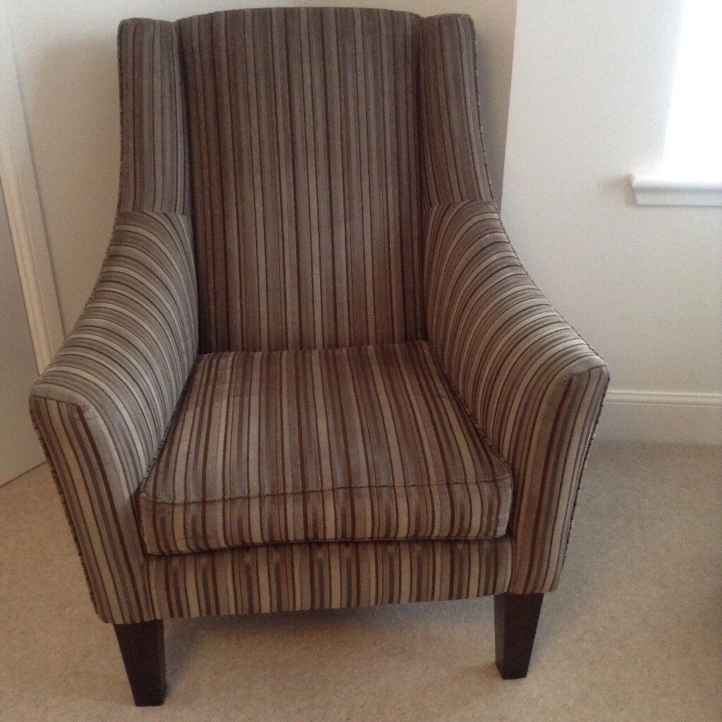 Lounge chair for sale. Excellent condition, high quality (Jonh Lewis). Dark wood feet.