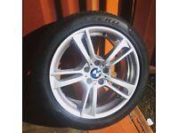BMW X1 Alloy Wheel With Pirelli Pzero Run Flat Tyre 6mm 245/45/R19