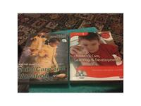 2 level 3 child care learning books and dvd.